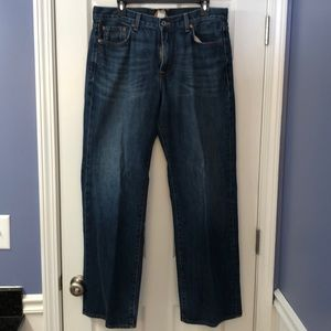 Mens Lucky Brand Jeans 34 Straight Leg